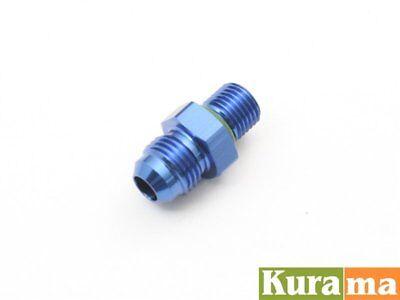 AN6 Fuel Rail Regulator Adaptor Fit Mark II Chaser JZX90 JZX100 110  Blue