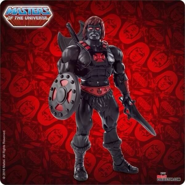 Masters of the Universe Classics Maitres de l'univers Anti-Eternia He-Man MOTUC Chase Exclusive