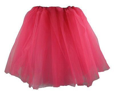 Neon Hot Pink Older Girls and Adult Tutu