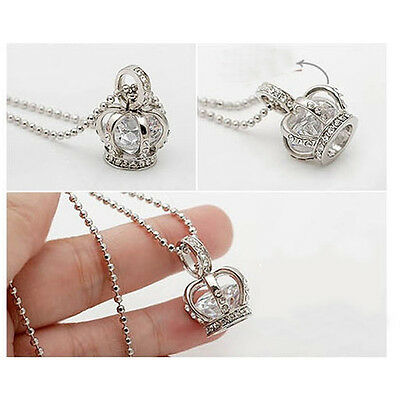 Fashion Ten karats Zircon Imperial Crown Necklace Long Necklace Fashion Jewelry