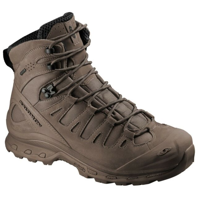 super popular 4a82d c37ac NEW Salomon Forces Quest 4D Burro military breathable tactical boots Brown  SEAL