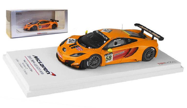 TrueScale miniatures McLaren MP4-12C GT3   58-Spa 24h-24 2011, échelle 1 43,