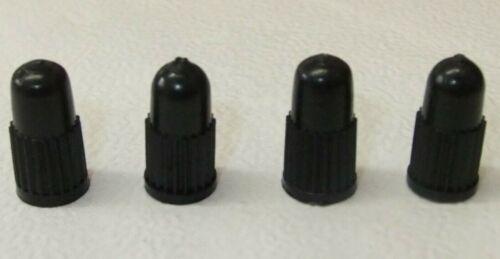 Confezione da 4 nero in plastica di qualità Valvola Presta pneumatico Bicicletta Polvere Coperchi Biciclette BMX