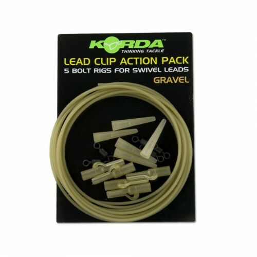 Korda Safe Zone Lead Clip Action Pack  Carp Tench Barbel Fishing terminal tackle