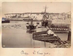 DIEPPE-c-1890-Le-Vieux-Port-Normandie-APA-10