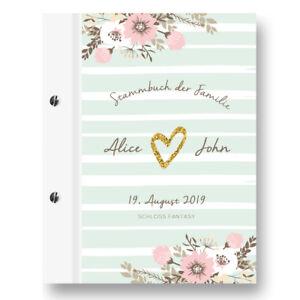 Stammbuch Flower Individuell A4 Stammbuch Familienstammbuch Standesamt Dokumente