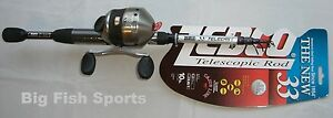 ZEBCO-33-SPINCAST-6-039-TELESCOPING-Fishing-Combo-Rod-and-Reel-NEW-33605MTEL