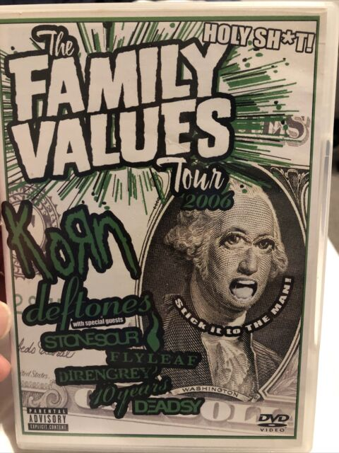 Various Artists - the Family Values Tour DVD Incredible Value and Free Shipping!