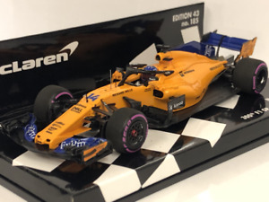 1 43 Minichamps McLaren Mcl33 300th GP Canada Alonso 2018