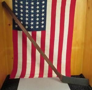 Vintage 1940s Wood Ice Hockey Stick