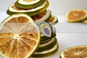 15 dried green orange slices