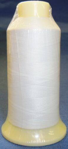 Marathon Stickerei Maschine Spule Faden 1000m Weiß 60//2 Passend für Brother