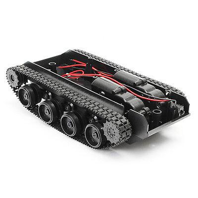 3V-7V DIY Light Shock Absorbed Smart Tank Robot Chassis Car Kit With 130 Motor