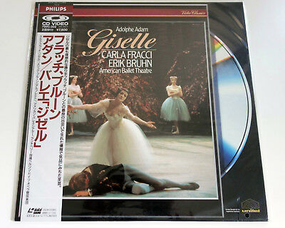 "Adam | ""giselle"" | Carla Fracci | Ntsc | Laserdisc Still Sealed Verbraucher Zuerst"