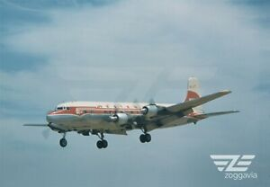AEREO-FOTO-4-x-6-N91309-DOUGLAS-DC-6-Western-1950s