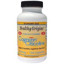 Cognizin Citicoline - 150 - 250mg Capsules by Healthy Origins - Brain Support