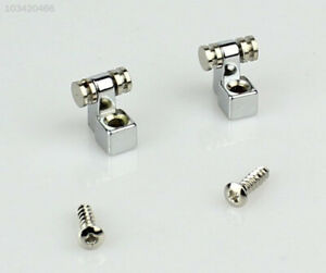 High-Quality-Chrome-2pcs-Roller-String-Retainers-Tree-Guide-for-Electric-Guitar