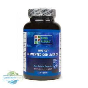 GREEN-PASTURE-Blue-Ice-Fermented-Cod-Liver-Oil-120-Capsules