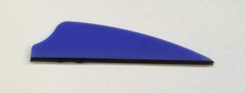 """2.1/"""" Fusion-X Vanes For Cross Bows and Compond Bows //Blue 36ct"""