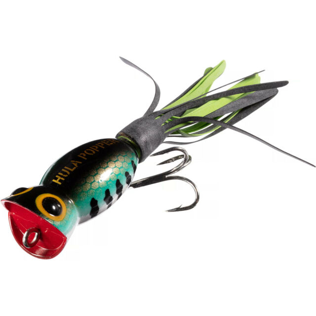 Details about  /Lot of 5 Arbogast Hula Popper Topwater Popper 1-1//4 Inch 3//16 oz Fishing Lures