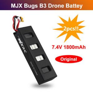 2pcs-1800mAh-7-4V-LiPo-Battery-Rechargeable-for-MJX-Bugs-3-B3-Brushless-RC-Drone