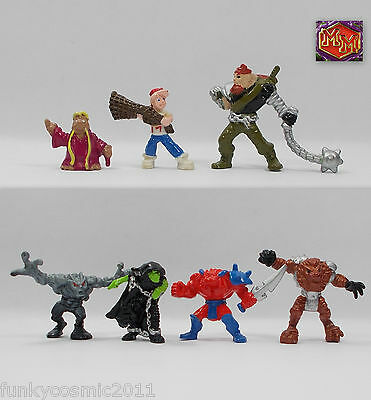 Mighty Max - Heroes & Villains - Figure Collection # 4 - Bluebird Toys 1994