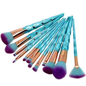12pcs unicorn makeup brushes set foundation blush eye