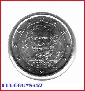 ITALIE - 2 € COM. 2013 UNC - GIUSEPPE VERDI