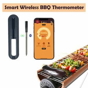 Termometro Di Carne Smart Telefono Bluetooth Wifi Ottieni Wireless Termometro Barbecue Cottura Ebay Un termómetro de carne o un termómetro culinario es un termómetro para medir la temperatura interna de la carne, especialmente los asados y filetes, y otros alimentos. ebay