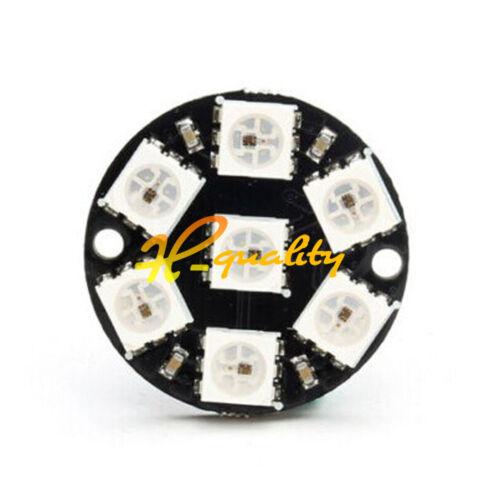 7-Bit WS2812 5050 RGB LED Ring Round Decoration Bulb Arduino