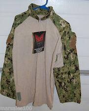 Military Crye Precision Combat Tactical Shirt DRIFIRE AOR2 Digital Camo LARGE