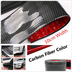 2M-10cm-Car-Door-Sill-Scuff-Welcome-Pedal-Protect-Front-Rear-bumper-Corners