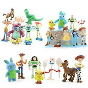 TOY-STORY-4-Figure-Figma-Woody-Buzz-Lightyear-Collection-Cake-Tropper-Kids-Toys