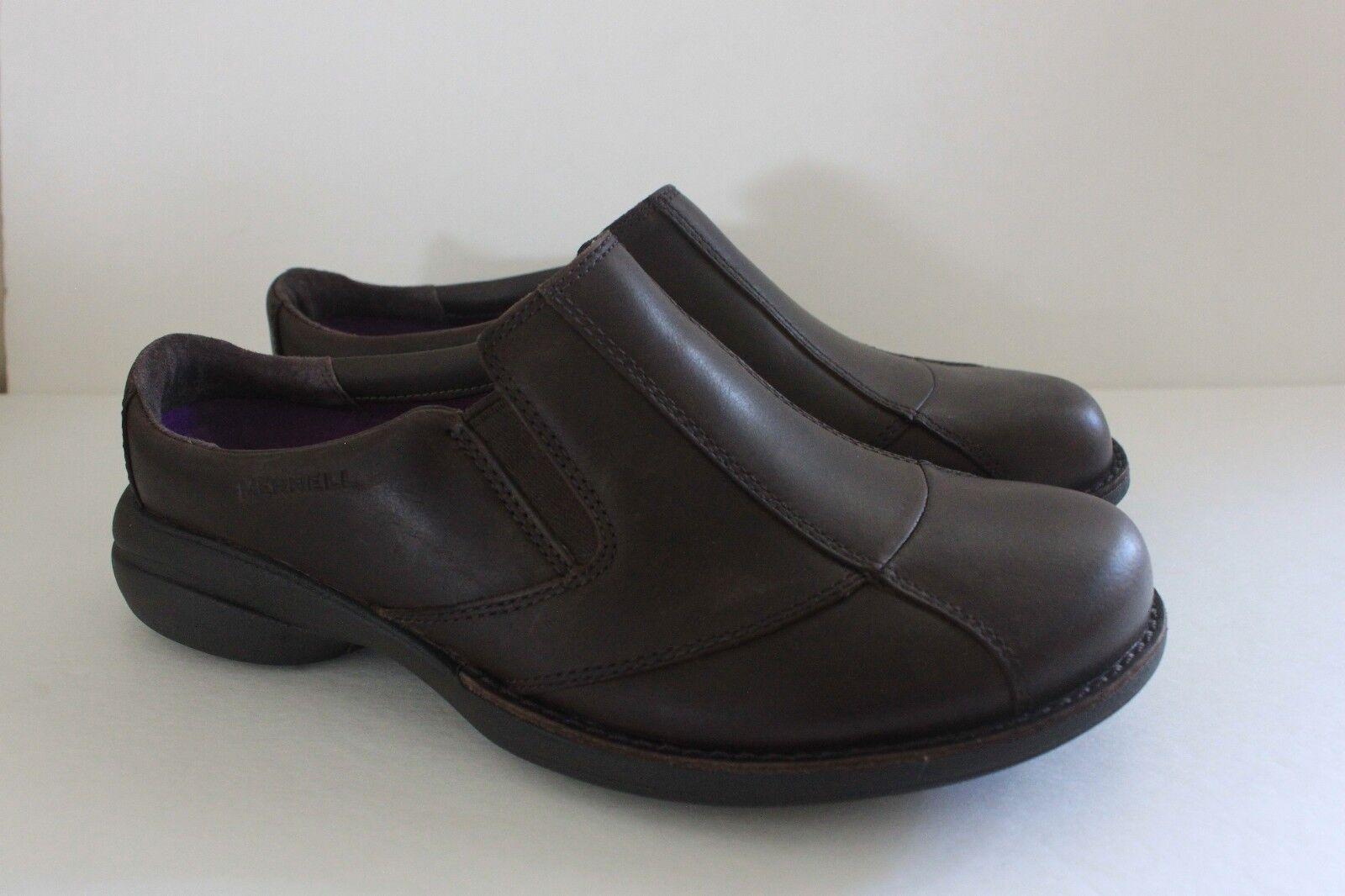 Merrell Merrell Merrell donna Leather Marronee Slides Mule scarpe Clog Dimensione 6 M Euro 36 NIB bc679a