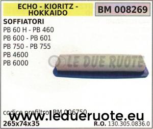 Outils à main, équipement 13030508360 FILTRE À AIR SOUFFLEUR ECHO ...