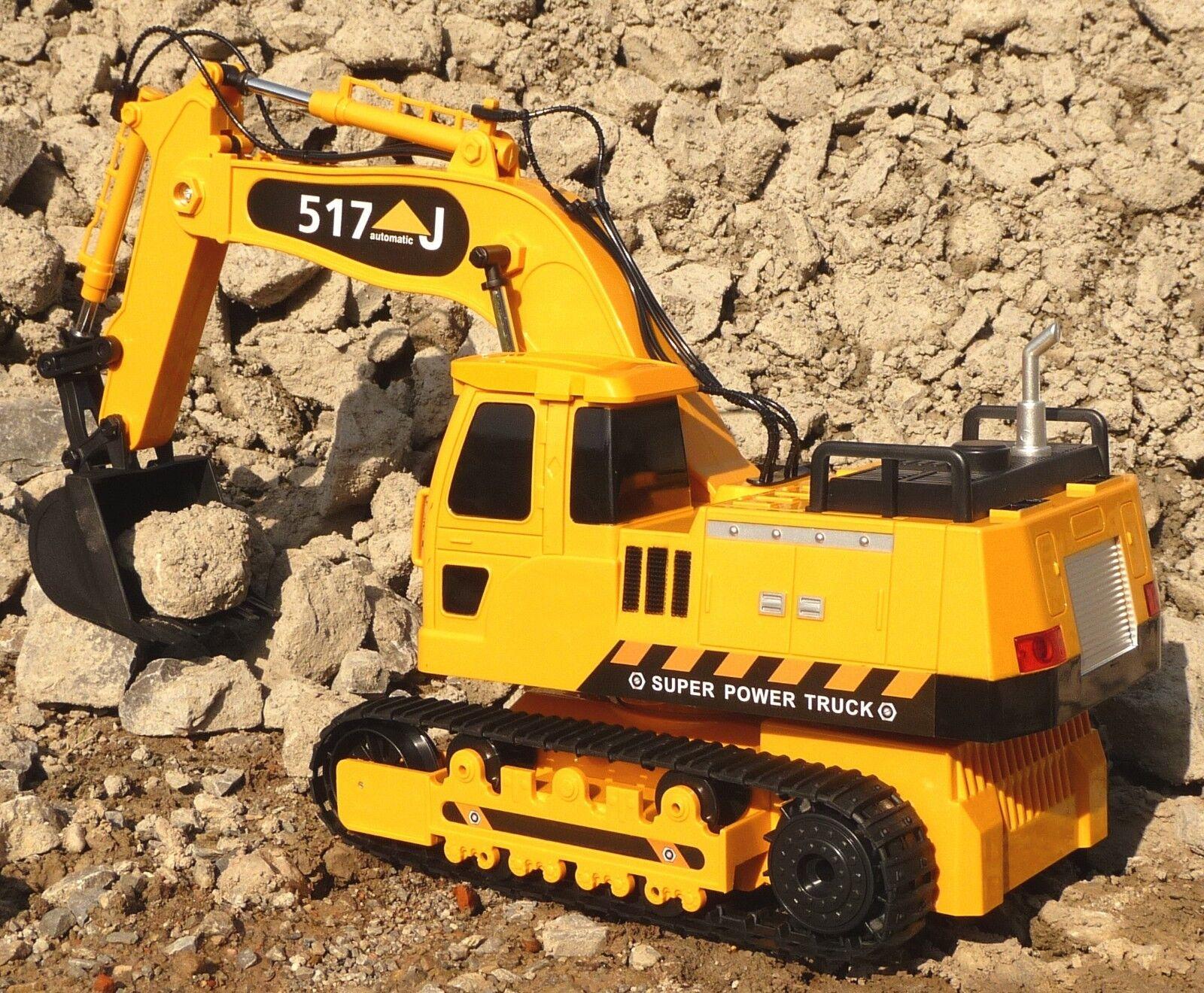 RC Schaufelbagger Kettenbagger Länge 45cm  2,4GHz Ferngesteuert           403775