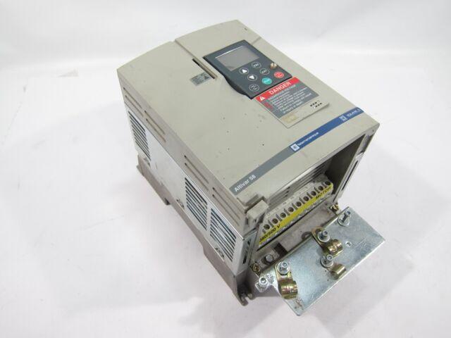 Telemecanique ATV58HU41N4Z Square D Altivar 58 2.2 kW 3 HP AC Drive 380//500V