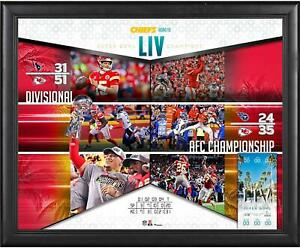 Kansas-City-Chiefs-Frmd-16-034-x-20-034-Super-Bowl-LIV-Champs-Road-to-the-SB-Collage