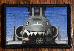 A10 Warthog Morale Patch Warthog Nose Art Fighter bomber