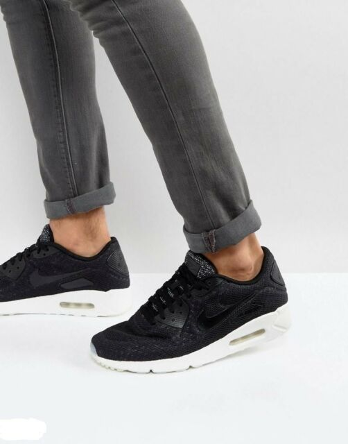 sale retailer e6ef3 c9f05 Frequently bought together. NIKE AIR MAX 90 ULTRA 2.0 BR BLACK SUMMIT WHITE  898010-001 MENS SZ