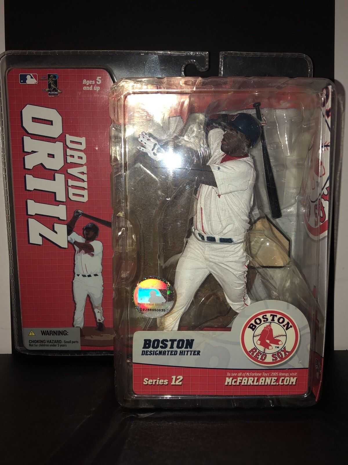DAVID ORTIZ - Boston Red Sox - MLB McFarlane Series 12 Action Figure NEW Sealed