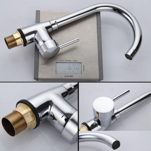 Bathroom Basin Sink Tap Modern Chrome Mixer Bath Filler Cloakroom Taps Waterfall