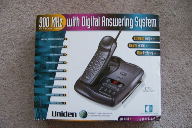 Uniden EXA 6950 Phone Old School 900 MHz with a Digital Answering System