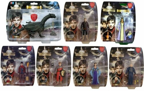 "Choice of 7 figures BBC TV SERIES ADVENTURES OF MERLIN 3.75/"" ACTION FIGURE"