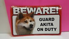 VIZSLA-BEWARE GUARD DOG SIGN,SCANDICAL,ST 885 LAMINATED,FREE SHIP