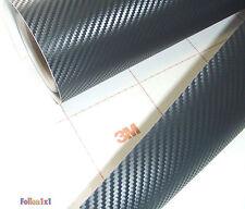 113,57€/qm 24cm x 60cm 3M DI-NOC CA-421 Carbon Folie schwarz Auto Strukturfolie