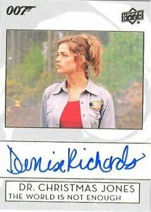 Details About 2019 James Bond Collection A Ri Denise Richards As Dr Christmas Autograph Card