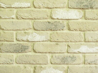 Retro Handform-klinker-riemchen Fassade Wdf Hellgrau Beige Nuanciert Ein Unbestimmt Neues Erscheinungsbild GewäHrleisten