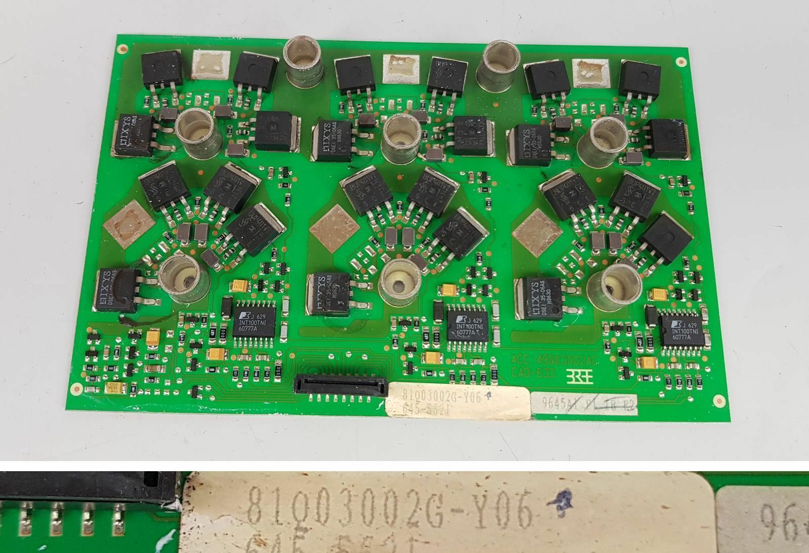 PP5964 Servoregler board ABB KRAFT-G 81Q03002G Y06