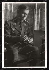 Foto-Stuttgart-Portrait-Soldat-Pilot-Luftwaffe-Frontflug-Spange-1941-26